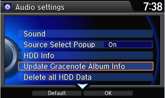 Gracenote® Install Step 2